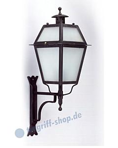 Wandlampe antik außen 3065 Schmiedeeisen von Galbusera