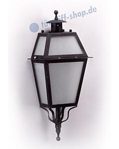Wandlampe antik außen 3074 Schmiedeeisen von Galbusera