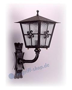 Wandlampe antik außen 3064 Schmiedeeisen von Galbusera