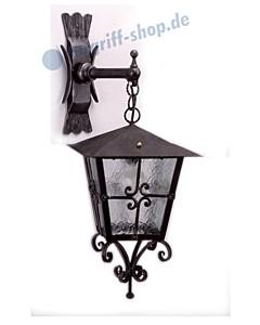 Wandlampe antik außen 3071 Schmiedeeisen von Galbusera