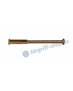 Hülsenschraube inkl. Hülse, M4 in 2 Längen, bronziert von Lienbacher