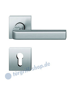 12-1004 quadratische Rosettengarnitur ASL® Edelstahl feinmatt von FSB