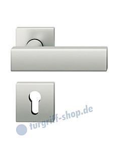 12-1003 quadratische Rosettengarnitur ASL®  in Alu F1 von FSB