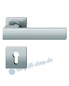 12-1183 quadratische Rosettengarnitur ASL® Edelstahl feinmatt von FSB               von FSB