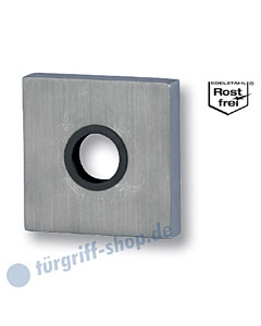 Drücker-Schutzrosette Square Außen für Knöpfe Edelstahl matt Südmetall