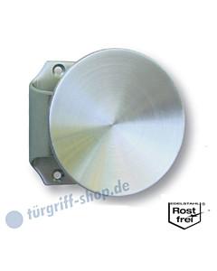 Stoßgriff mit Griffplatte Ø 60 oder 90mm Edelstahl matt Südmetall