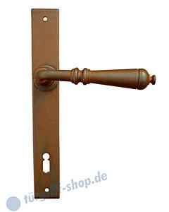 Mosca Langschildgarnitur antik -schmales Schild ST3- Galbusera