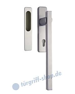 305-Laser-Q Hebe-/Schiebetürgriff Set auf Schild PZ Reguitti