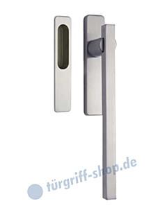 305-Laser-Q Hebe-/Schiebetürgriff Set auf Schild von Reguitti