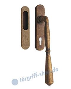 Bernini Hebe-/Schiebetürgriff Set PZ von JTC