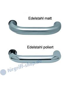 1104 (Ronda) Drückerpaar Edelstahl matt oder poliert Scoop
