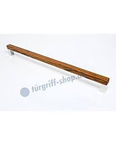 Stossgriff PURO in Zebrano geölt oder lackiert in 3 Längen