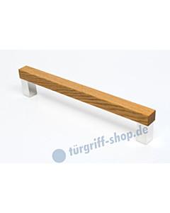 Stossgriff PURO in Eiche geölt oder lackiert in 3 Längen