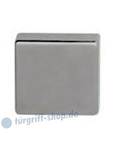 Blindrosette quadratisch in Edelstahl matt von Südmetall