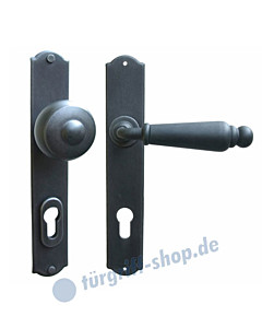 Oslo LS Haustürgarnitur m. Sicherheitsrosette Hardox® Galbusera