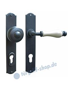 Kopenhagen LS Haustürgarnitur mit Sicherheitsrosette Hardox® Galbusera