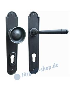 Bern LS Haustürgarnitur mit Sicherheitsrosette Hardox® Galbusera