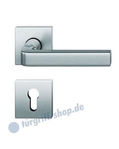 70-1004 quadratische Halbgarnitur, Hochhaltefeder, PZ-Lochung, Vierkantaufname 8 mm, 3 Farben FSB