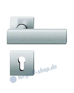 70-1003 quadratische Halbgarnitur, Hochhaltefeder, PZ-Lochung, Vierkantaufnahme 8mm, 2 Farben FSB