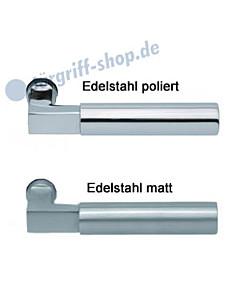 1016 (Bauhaus) Drückerpaar Edelstahl matt o. poliert Scoop