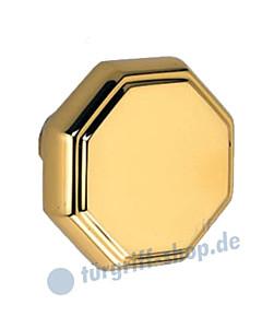 Knopflochteil 919-065 achteckig, drehbar Ø 65 mm Ultra-Messing Jatec