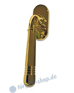 Paola Fenstergriff Messing poliert (goldfarbig) von Edestar