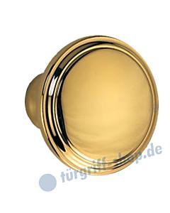 Knopflochteil 922-508 feststehend oder drehbar Ø 50mm Ultra Messing Jatec
