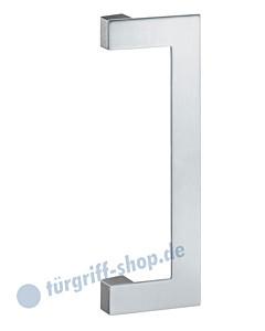 Stossgriff 61-6188 eckig offen Edelstahl matt FSB S-Flat-Serie