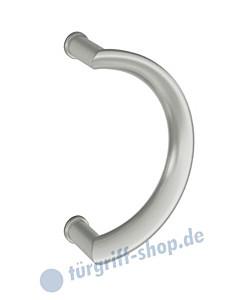 Stoßgriff oval 66-6612 runde Form  Edelstahl feinmatt von FSB