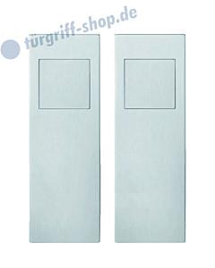 Einlassmuschel-Garnitur FSB 42-4255 Blind mit Einsteck-Gegenkasten