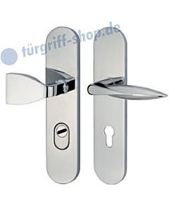 Schutzgarnitur 952-374 mit Kernziehschutz ES2 Chrom von Jatec