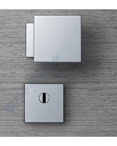 Rosetten-Schutzgarnitur 0812/7397 quadratisch Edelstahl matt FSB