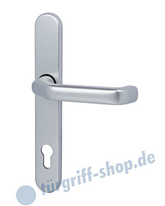 Berlin Schmalrahmen-Halbgarnitur Innen PZ 92 mm Aluminium Südmetall