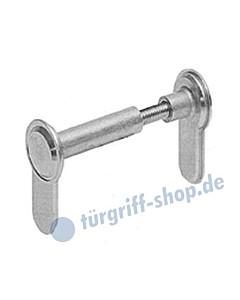 Blindzylinder variabel 33-110 mm matt vernickelt von Südmetall