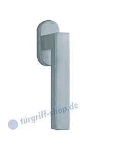 1002 (Quadra II) Fenstergriff oval Edelstahl oder PVD Messing-poliert Scoop