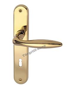 Arena-LS Basic Langschildgarnitur Robusta Gold von Südmetall
