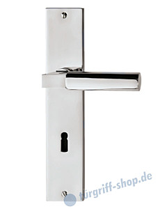 Bauhaus S Langschildgarnitur Chrom von Jatec