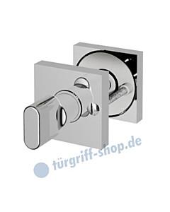 WC-Rosettenpaar R963 mit Riegel + Schlitzschraube 4 Farben Jatec