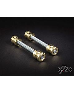 Befestigungsset G2 paarweise Befestigung für Stossgriffe auf Metall-/Kunststofftüren von x7zo