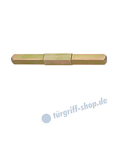 FSB - Beidseitig abgesetzter Vollstift mit Vierkantstärke 8/9/8 mm