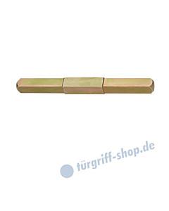 FSB - Beidseitig abgesetzter Vollstift mit Vierkantstärke 8/10/8 mm