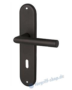Benny-LS Langschildgarnitur schwarz matt von Edestar