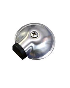 Boden-Türstopper Ø 65 mm Edestahl matt von Südmetall