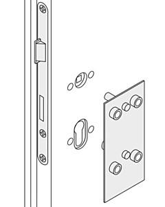 Bohrschablone für FSB Rosetten WC 78 mm Distanznorm Metall von FSB
