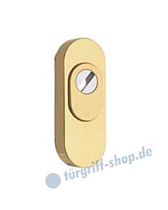 Schutzrosette außen CD6 BY 001 oval mit KZS in 8 Farben von Reguitti