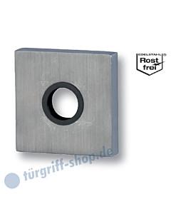Drücker-Schutzrosette Square Außen für Drücker Edelstahl matt Südmetall