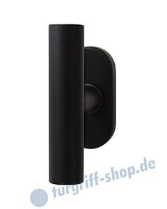 Rhodos EFT 284 Fenstergriff T-Form Kosmos schwarz von Karcher Design