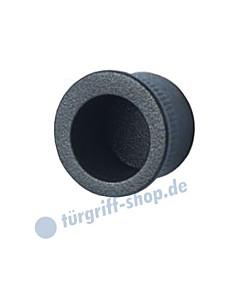Einlass-Stirnmuschelgriff Schwarzstahl-Optik Südmetall