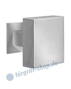 Stoßknopf EK 570-RQ quadratisch zentriert, feststehend Edelstahl matt oder poliert Karcher