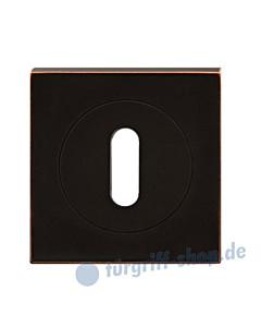Rosette quadratisch EZ 1340 in 5 Ausführungen Antik Bronze Optik von Karcher